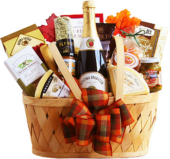 Autumn Snack Feast Gift Basket