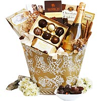 Chandon & Bubbles Gift Basket