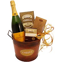 Cheers to Veuve Clicquot Gift Bucket