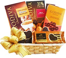 Chocolate for the Season Gift Basket
