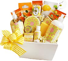 Easter gift baskets easter gifts easter gift ideas gourmet easter citrus sensations spa gift basket negle Gallery