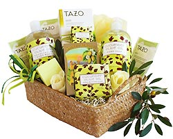 Cucumber and Olive Oil Gift Basket