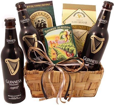 Drops of Guinness Beer Gift Basket