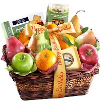 Fruit & Nut Birthday Gift Basket