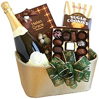 Sparkling Glory Champagne Gift Basket