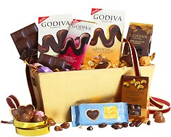 Godiva Connoisseur Chocolate Gift Basket