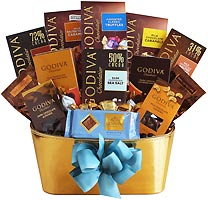 Godiva Gold Chocolate Gift Basket