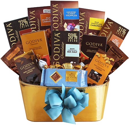 Godiva gold chocolate gift basket godiva gold gift basket negle Choice Image