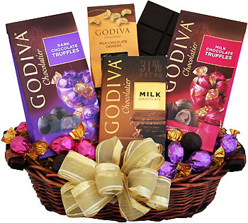 Godiva Holiday Greatness Gift Basket