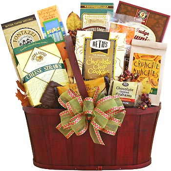 Gourmet Traditional Treats Gift Basket