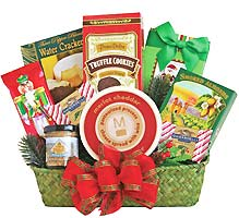 Holiday gift baskets with free shipping christmas gift baskets christmas gift baskets negle Image collections