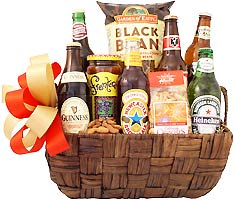 Import Season Beer Gift Basket