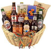 Imported Beer Gift Basket