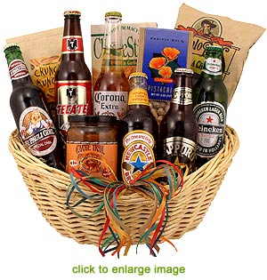 Gift Baskets With Beer : Watches on sale beer gift basketsgift basket ideas