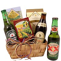 International Beer Taster Gift Basket