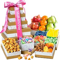 Mother's Day Medley Fruit Gift Tower