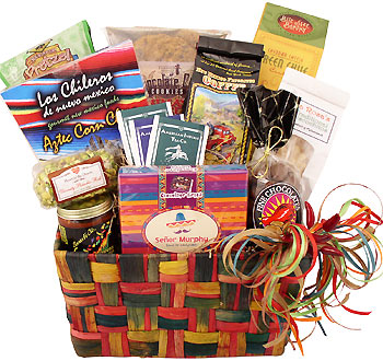 Native New Mexico Gift Basket