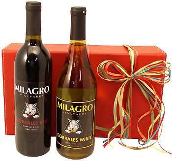 New Mexico Wine Design Gift Box