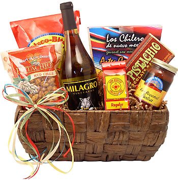 New Mexico Wine & Gourmet Gift Basket