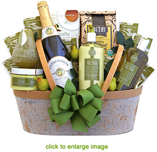 Image result for organic gift basket