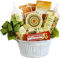 Revive and Relax Organic Gift Basket