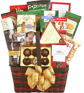 Seasonal Snacks of Joy Gift Basket