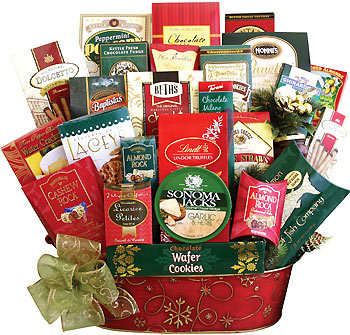 Snow Day Pleasers Gift Basket