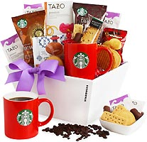 Starbucks Coffee Break for Mom Gift Basket