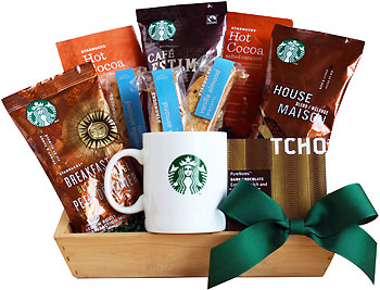 Starbucks Refresher Coffee Gift Basket