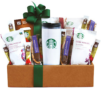 Starbucks To Go Coffee Gift Basket