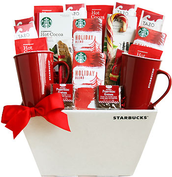 Starry Starry Starbucks Gift Basket
