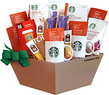 Stellar Starbucks Coffee Gift