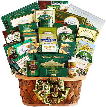 Sweet Tidings of Joy Holiday Gift Basket