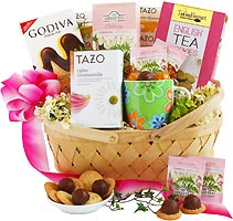 Tea Connoisseur Gift Basket