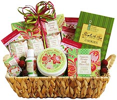 Tea & Sweet Touches Gift Basket