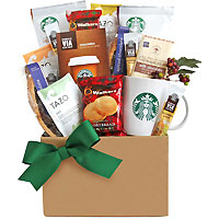 Thankful for Starbucks Coffee Gift Basket