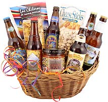 The Beer Gift Basket - Microbrew Gift