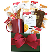 Time for Tazo Tea Gift Basket