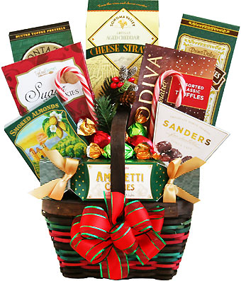 Tis the Seasonal Snacker Gift Basket